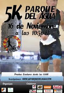 5K Parque Agua 2014 Cartel