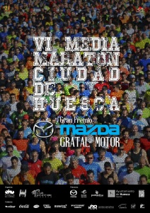 Cartel Media Maratón Huesca