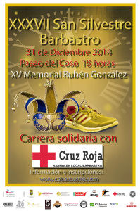 Cartel Oficial San Silvestre Barbastro