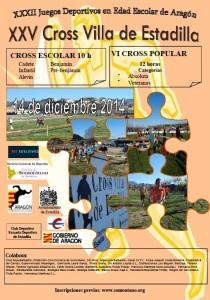 Cartel Cross Estadilla 2014