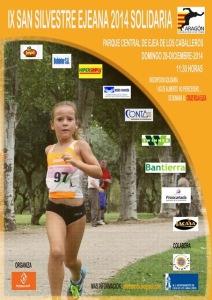 Cartel IX San Silvestre Ejeana 2014 Solidaria