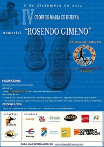 Cartel Memorial Rosendo Gimeno 2014