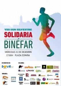 Cartel San Silvestre Binefar