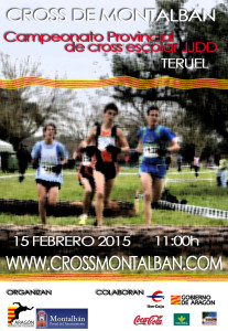 Cartel Cross Montalban 2015