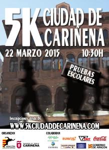 Cartel 5k Cariñena