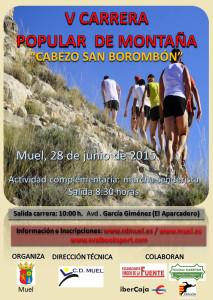 Cartel V Carrera Montaña Cabezo de Somboronbón