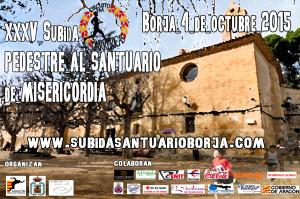 Cartel santuario Borja 2015