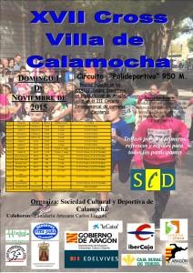 Cartel Cross Calamocha 2015