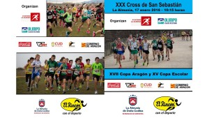 Cartel Cross La Almunia