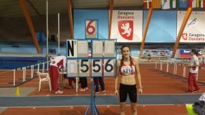 5.56 lara soldevilla, récord cadete en longitud