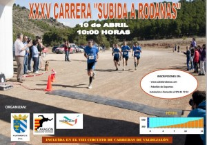 Cartel XXXV Subida Rodanas 2016