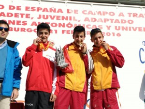 Plata cross cadete CSD Pol Oriach