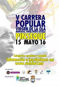 Cartel Pinseque Virgen Ola