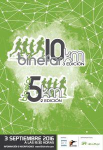 Cartel 10K Binefar