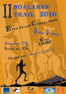 Cartel Boalares Trail 2016