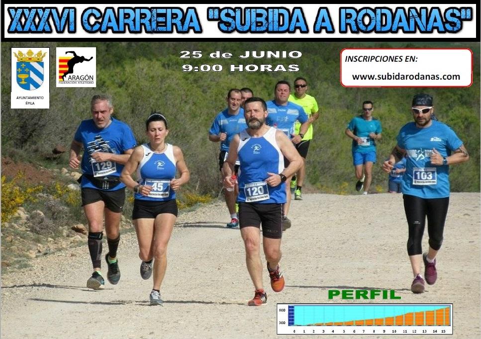 Cartel Subida Rodanas 2017