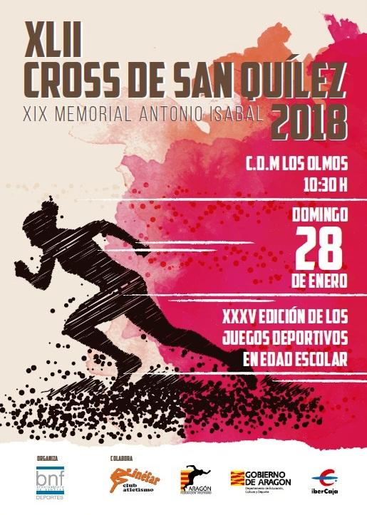 Cartel Cross San Quilez Binefar