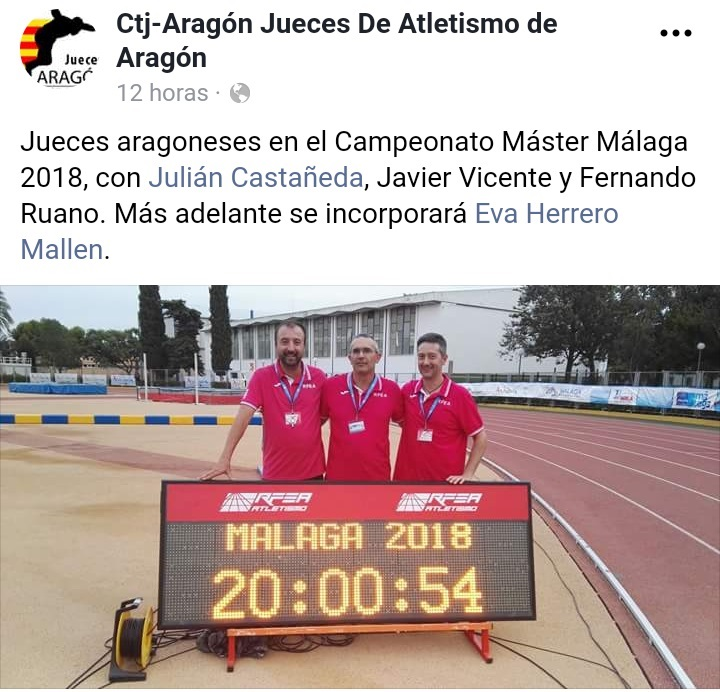 2018.09.04 Jueces FAP en Mundial Málaga Máster 2018