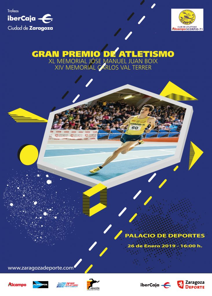 "Atletismo. Trofeo Ibercaja ""Ciudad de Zaragoza"""