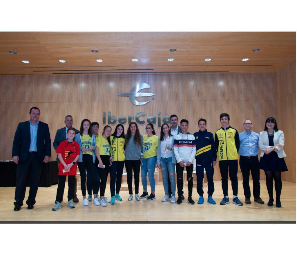 2019.05.20 IberCaja. Presentación CESA, atletismo